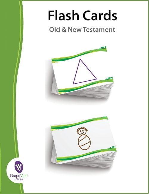 Biblical timeline flashcards